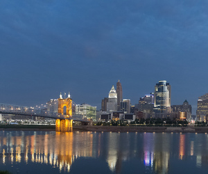 buildings, cleveland, and ohio image