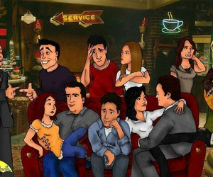 how i met your mother and friends image