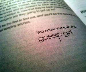 gossip girl, book, and xoxo image