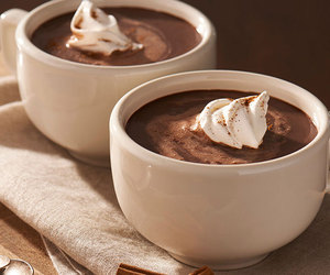 chocolate, drink, and hot chocolate image