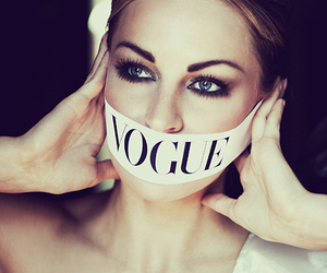 vogue, model, and eyes image