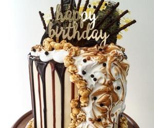 birthday, diy, and cake image
