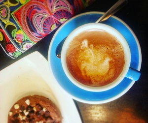 coffee, fairtrade, and cookie image