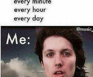 bmth, funny, and oliver sykes image