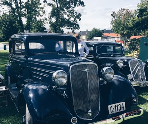 car, old, and summer image
