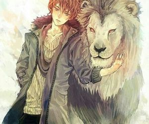 anime, lion, and pretty image
