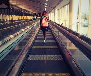 airport, fashion, and watermelon image