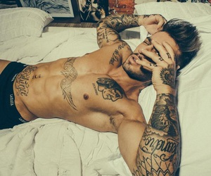 body, inked, and tattoo image