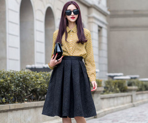 chic, girl, and hipster image