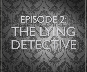 sherlock and the lying detective image