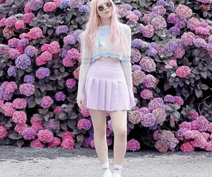 fashion, pink, and alternative image