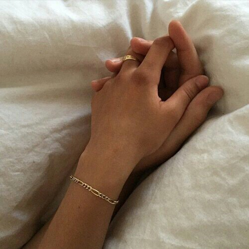 bed, romance, and couple image