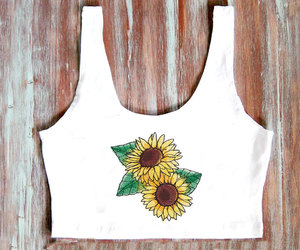 american apparel, crop tops, and etsy image