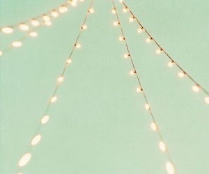 light, mint, and vintage image