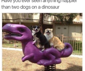 adorable, dinosaur, and funny image