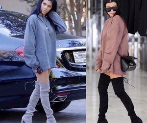 fashion and kourtney kardashian image