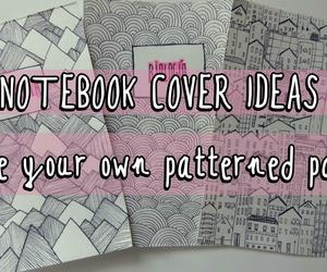 diy notebook cover school image