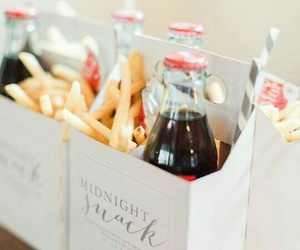 coke, fries, and party favours image