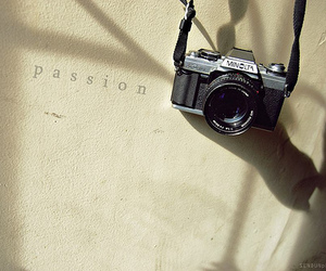 passion and cammera image