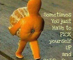 orange, quote, and carry on image