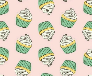 background, cupcakes, and kawaii image