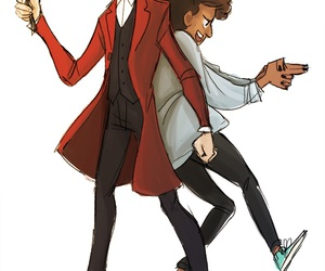 art, bill, and doctor who image