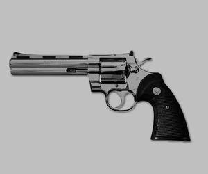 gun and aesthetic image