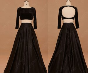 backless, pageant dress, and long prom dresses image