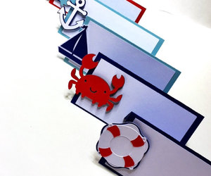 crabs, etsy, and nautical decorations image