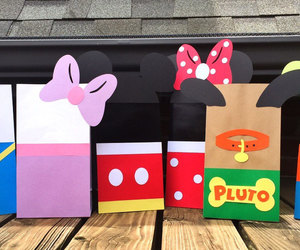 etsy, minnie mouse favors, and minnie treat bags image