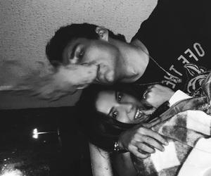 b&w, boyfriend, and girlfriend image