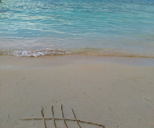 beach, LUke, and sea image