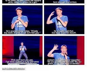 funny, lol, and russell howard image