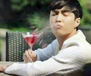 exo, lay, and meme image
