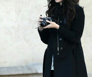 lily collins, style, and camera image