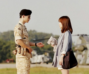 song hye kyo, descendants of the sun, and kdrama image