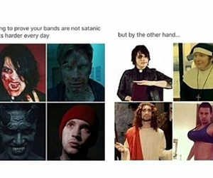 band, fall out boy, and my chemical romance image