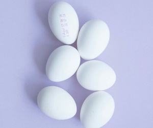 purple, eggs, and pastel image