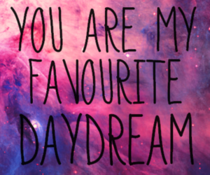 daydream, galaxy, and quotes image