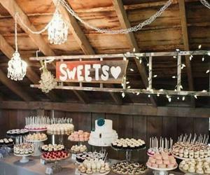 dessert, sweet, and wedding image