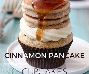breakfast, Cinnamon, and cupcakes image