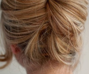 beehive, hair, and twist image