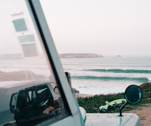 summer, surf, and view image