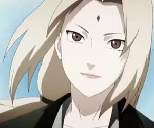 anime, naruto, and tsunade image