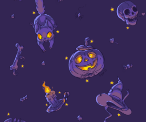 halloween wallpaper, halloween background, and witch wallpaper image