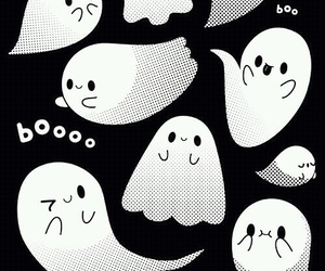ghost, halloween wallpaper, and Halloween image