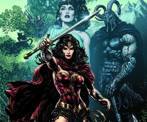 hades, hero, and wonder woman image