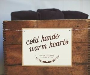 warm, cold, and hands image