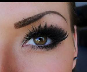 beautiful, eyes makeup, and maquillaje para ojos image