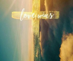 cross, love, and god image